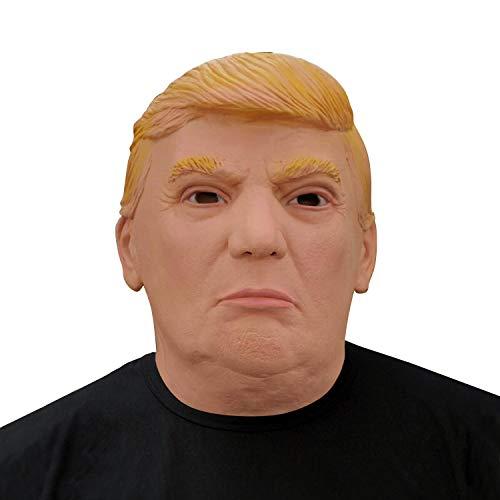 Finalshow des Präsidenten Donald Trump Maske Latex Politisch Männer Kopf Kostüm für Halloween Weihnachten Party Dekoration Karneval Masken
