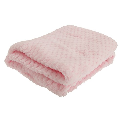 Baby Boys/Girls Supersoft Waffle Textured Blanket (29.5 x 35.4in) (Pink)