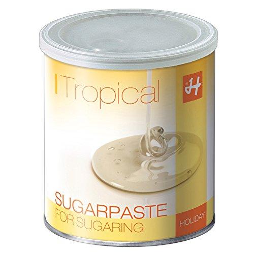 Zuckerpaste TROPICAL STRONG STRONG 1 kg Sugaring die effektive langfristige Haarentfernung ohne Vliesstreifen mit der Flicking Technik
