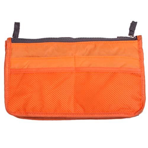FGJFJ Sac de Rangement Pliable Portable Sac à Main Maman Sac à Main Multifonction Enfants Jouets Organisateur,Orange