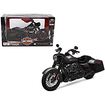 Maisto 2017 Harley Davidson King Road Special Black Motorcycle Model 1/12 32336 Toy