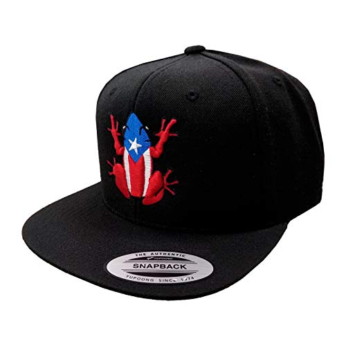 Puerto Rico Snapback Hats Vintage Hats 3D Embroidered Logo