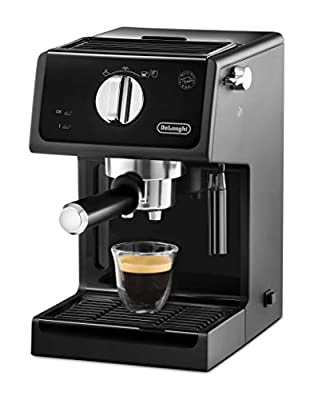 De'Longhi ECP31.21Traditional Barista Pump Espresso Machine, Coffee and Cappuccino Maker, Black