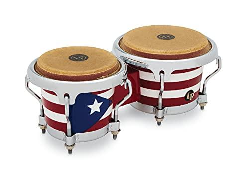 LP LP817960 - Bongo Mini, con diseño de Bandera de Puerto Rico