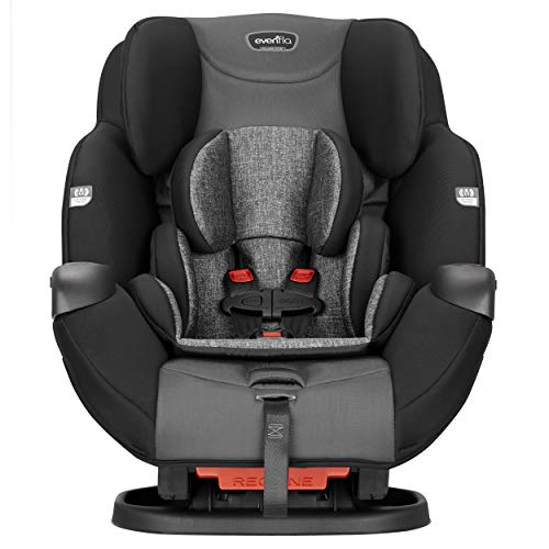 Evenflo Symphony Sport All-in-One Car Seat, Charcoal Shadow