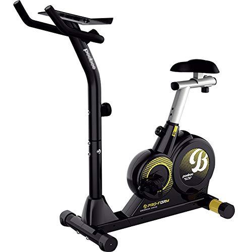 Spinningfiets, stille fitnessapparatuur voor gewichtsverlies, hometrainer met hometrainer, hometrainer met magnetische controle,Black