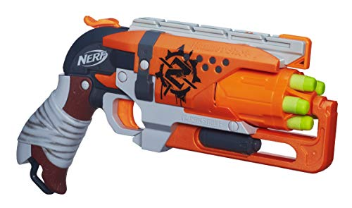 NERF Zombie Strike Hammer Shot Elite Toy Gun