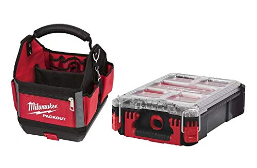 Milwaukeee Packout - Bolsa de herramientas (2 piezas)
