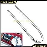 Chrome Fairing Eyebrows Trim For Honda Gold Wing Gl1800 2001-2011 08 09 10