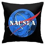 Woidxzxza Jean-Paul Sartre - Nausea Square Pillowcase Case Throw Pillowcase Sofa Cushion Car Cushion Indoor Decorations Chair Pillowcase
