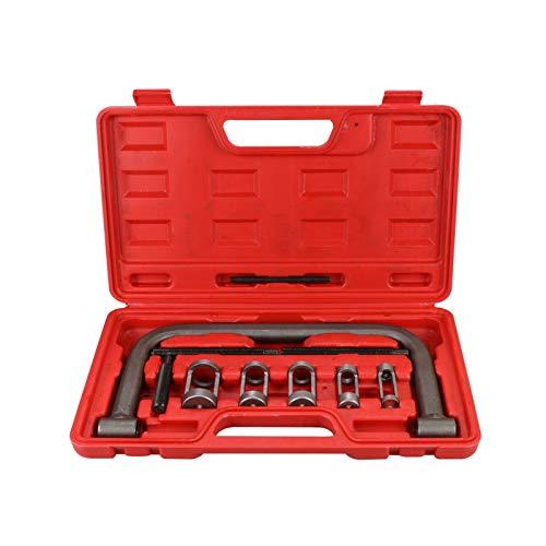 Fangaichen Válvula de Cilindro automotriz Válvula de Aceite Seal Eliminación de Aceite Spring Compressor Tool C Abraza de Servicio Set 10 PCS Adecuado para el Coche