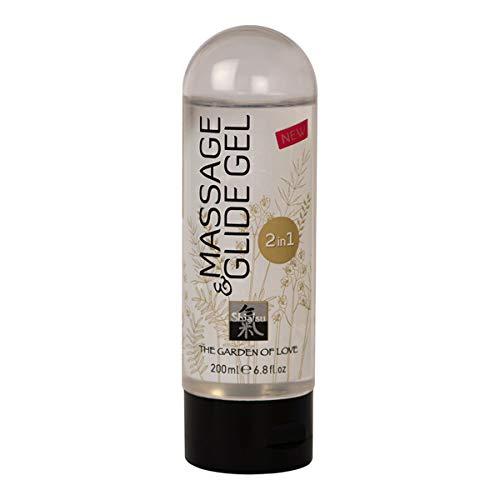 SHIATSU MASSAGE- & GLEITGEL 2in1, 200 ml