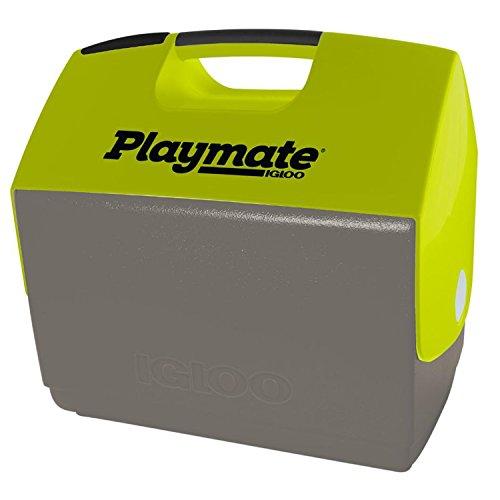 Igloo Playmate Ultra Elite Cooler-Meteorite White/Green, Gray