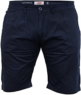 D555 Mens Chino Shorts Duke Big King Size Knee Length Casual Cotton Summer New