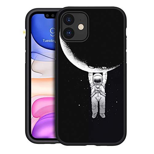 Yoedge für iPhone 11 Hülle, Silikon TPU Schutzhülle [Slim Stoßfest] Ultra Dünn Schwarz mit Muster Motiv Handyhülle 360 Bumper Soft Hülle Cover für Apple iPhone 11 6,1