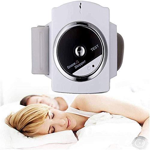 Dispositivo Inteligente antirronquidos para Dormir, tapón Inteligente para ronquidos, para Dejar de roncar, Parche biosensor, Carga USB, Ayuda, Pulsera, Reloj, Ayuda para Dormir