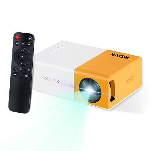 Portable Mini Projector LED Video Projector with HDMI USB AV for Party, Game, Child Present