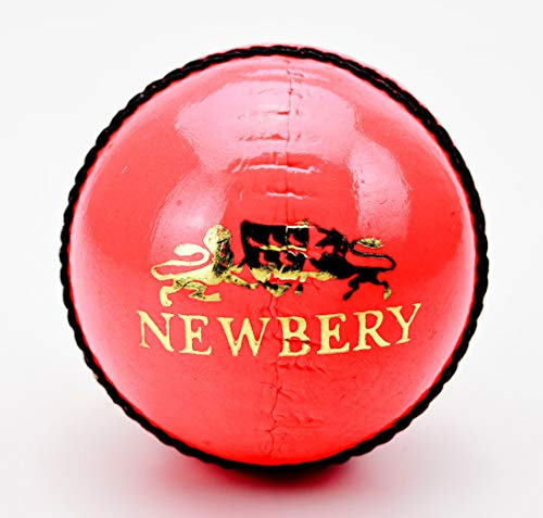Newbery Cricket Player Cricketball, Rose, 4.75