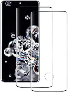 [2 Pack] Galaxy S20 Screen Protector, Keklle Case Friendly Anti-Scratch Bubble-Free High Definition 3D Touch Tempered Glas...