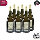 Roussette de Savoie cru Marestel'Novem' Blanc 2011 - Domaine Saint-Romain - Vin AOC Blanc de Savoie - Bugey - Cépage Altesse - Lot de 6x75cl