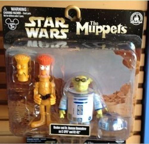 Disney ( Disney ) Park Star Wars ( Star Wars ) Muppets Beaker u0026 Dr. Bunsen Honeydew as C-3PO u0026 R2-D PVC Figure s ( parallel imports ) by Disney