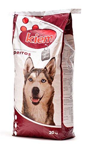 KIEM Saco de pienso para Perros Mantenimiento 20 kg, Comida para Perros