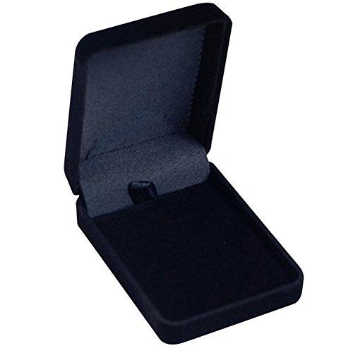 loinhgeo - Caja de Almacenamiento para Joyas, Collares, Anillos y Pulseras de Terciopelo