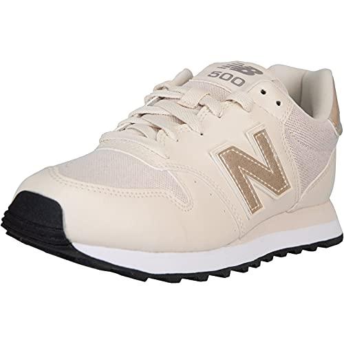 New Balance NB 500 - Zapatillas para mujer, color Beige, talla 40 EU