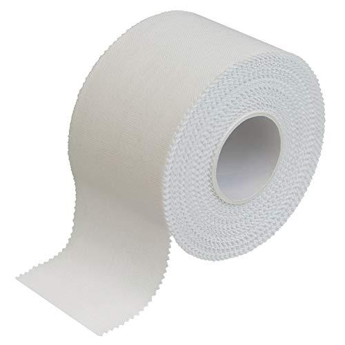 BB Sport Sport Tape 3.8 cm x 10 m Cinta Adhesiva Deportiva Blanco en Diferentes cantidades, Cantidad:1 Rollo