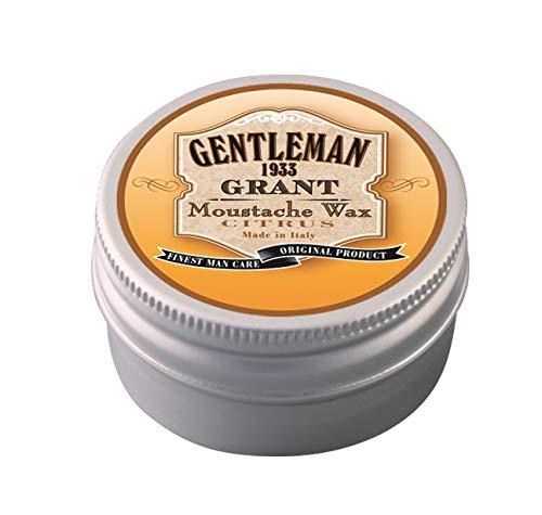 GENTLEMAN 1933 - La Cera per baffi Grant - Made 100% in Italy - 30ml - Profumazione Citrus