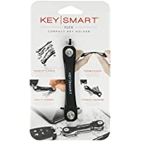 2-Pack KeySmart Flex Compact Key Holder and Keychain Organizer