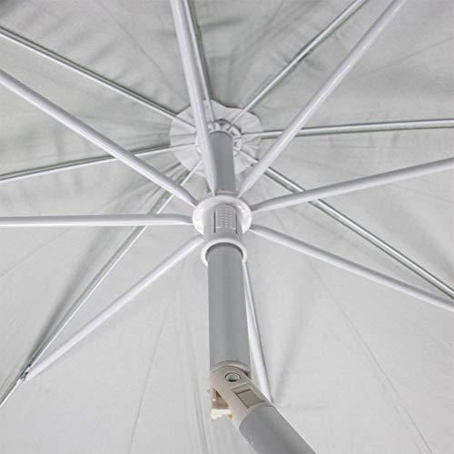 PAPILLON 8042670 Sombrilla Playa Proteccion UV Aluminio 200 cm