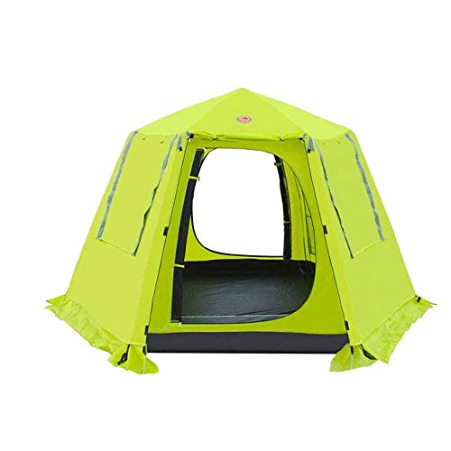CHHD Tent for Camping Camping Tent, Portable Family Tents, Automatic Pop Up Camping Tent Protection Easy Set Up Dome Tent Waterproof Backpacking Tents Sun Shelter