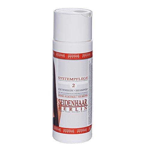 *Seidenhaar- Extension Shampoo * sensitive, ohne Silikone & Alkohol * 200 ml
