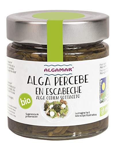 Alga Codium (Percebe) en Escabeche 190Gr. BIO