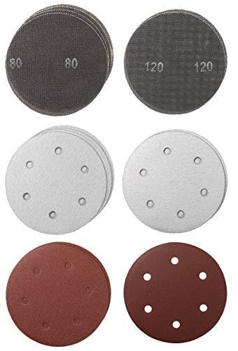 kwb by Einhell Gitter-Schleifscheiben Set (Ø 225 mm, 15 Stück, passend für Einhell Trockenbauschleifer TE-DW 225 X)
