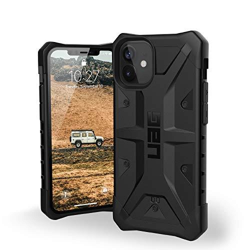 "Urban Armor Gear Pathfinder Hülle Apple iPhone 12 Mini (5,4\"" Zoll) Schutzhülle (Wireless Charging kompatibles Cover, Fallschutz nach Militärstandard, Sturzfeste Handyhülle, Ultra Slim) schwarz"