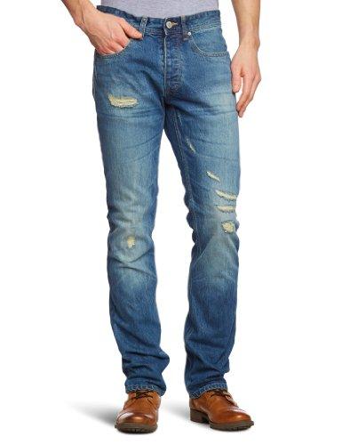 Jack & Jones - Jean - Coupe Droite - Homme - Bleu (SC 815) - FR : 31W/34L (Taille Fabricant : 31/34)