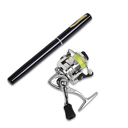 ShineMe Pen Fishing Rod, 39 Inch Mini Pocket Telescopic Fishing Rod...