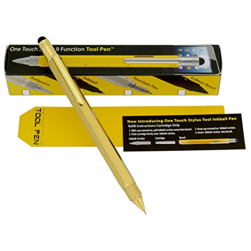 MONTEVERDE USA Tool 0.9mm Pencil - Solid Brass (MV35481) Photo #4