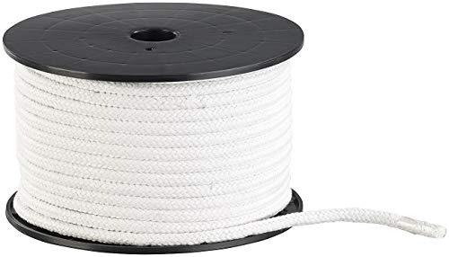 Semptec Urban Survival Technology Seil: Geflochtenes Baumwollseil auf Rolle, Ø 10 mm, 50 m lang, Natur (beige) (Kordel)