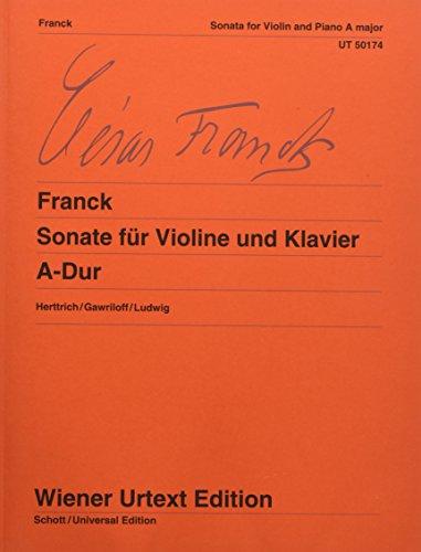 Franck: Violin Sonata in A Major