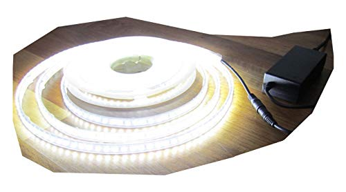 SA LED universum Lot de 5 m Strip 300LED étanche Natural Blanc Froid avec Bloc d'alimentation 3 a/36 w