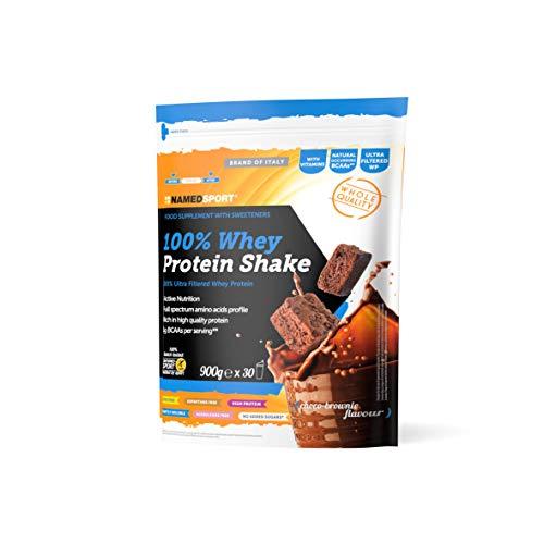 Named Sport 100% Whey Protein Shake Choco-Brownie - 900 Gr