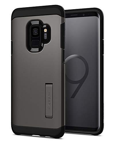 Spigen Cover Tough Armor Compatibile con Samsung Galaxy S9 - Gunmetal