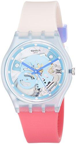 Swatch Reloj Digital para Mujer de Cuarzo con Correa en Silicona GL118