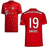 adidas FCB FC Bayern München Trikot Home Heimtrikot 2019 2020 Herren Davies 19 Gr M
