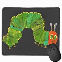 非常に空腹の毛虫 マウスパッド ノンスリップ 防水 高級感 習慣 パターン印刷 ゲーミング ホビー 事務 おしゃれ 学習