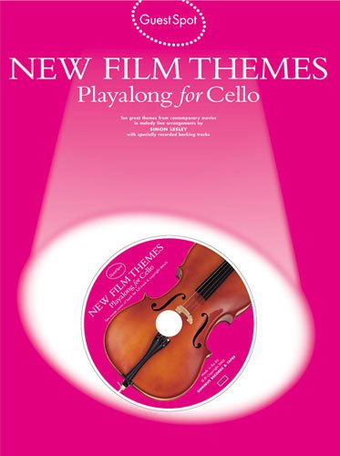 New Film Themes für Cello solo (+CD) mit Bleistift -- 10 beliebte Filmmelodien u.a. aus DIE...