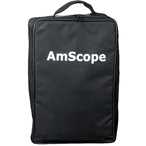 AmScope CB-B600 Microscope Vinyl Carrying Bag Case (Large)